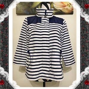 Ralph Lauren Sweaters - Ralph Lauren Color Block Striped Full Zip Cardigan